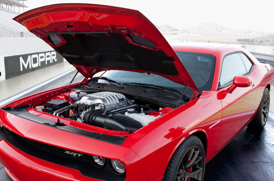 Dodge Unveils New Muscle Car – Dodge Challenger SRT® HEMI® Hellcat