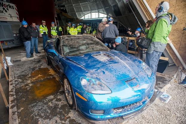 See The National Corvette Museum Sinkhole This Summer