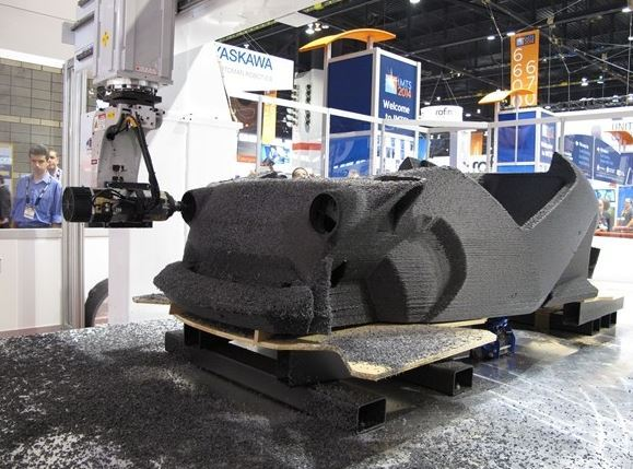 3D-Printed Car Created During IMTS Show